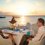 beach, restaurant