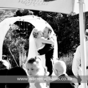 outdoor ceremony, wedding arch