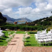 chairs, gazebo, outdoor ceremony, wedding arch
