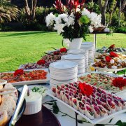 buffet, food