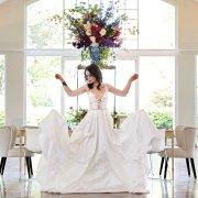 dress, wedding dress, wedding gown