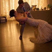dance, wedding dress
