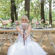 bouquet, decor, flowers, protea, table
