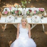 decor, table, wedding dress, flowers