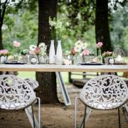decor, table, chair, flowers