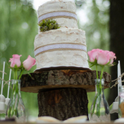 cake, cake stand, wooden