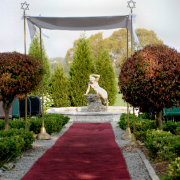 gazebo, outdoor ceremony