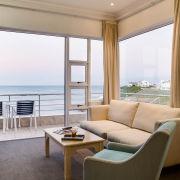 beach, view, room