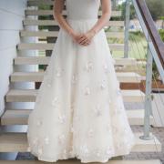 wedding dress, decor, white