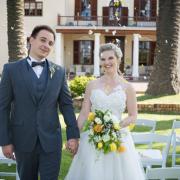bride, groom, venue