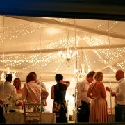fairy lights, lighting, marquee, reception