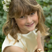flower girl, headband