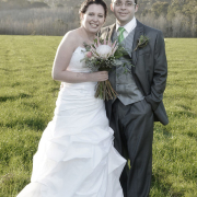 bouquet, makeup, suit, wedding dress