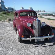 maroon, vintage car, wedding car, car