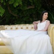 seating, wedding dress