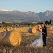 wedding dress, winelands