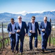 groomsmen, suit, winelands