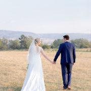 bride and groom, suit, veil, wedding dress, countryside
