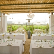 outdoor reception, outside reception, outdoor wedding