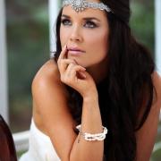 bracelet, headband, makeup
