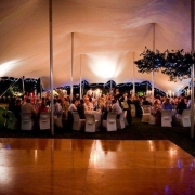 tent, tent venue, dance floor