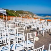 ceremony, outdoor ceremony, outside ceremony, seating, aisle, beach