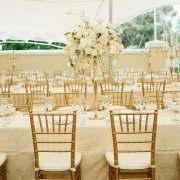 centrepiece, chairs, flowers