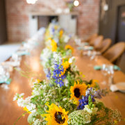 centrepiece, flower, table