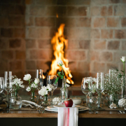decor, fireplace, tableware