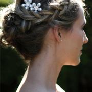 hairstyle, hairpins