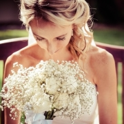 hairstyle, bouquet