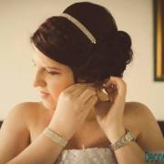 hairstyle, bracelet, headband