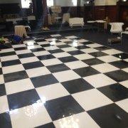 dance floor, flooring