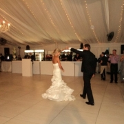 dance floor, wedding dress