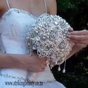 bouquet, brooch
