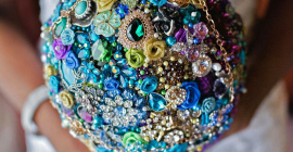 Striking Beauty Brooch Bouquets