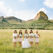 bridesmaid dress, mountain, wedding dress