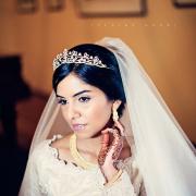 makeup, tiara