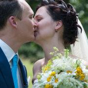 bouquet, kiss, tie