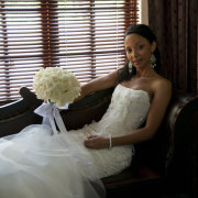 bouquet, wedding dress, beaded, jewellery