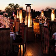 outdoor reception, safari