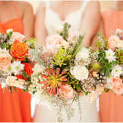 bouquet, orange