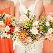 bouquet, orange