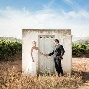 bride and groom, venue, winelands