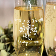 champagne, champagne glass