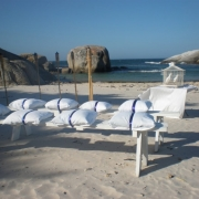 beach wedding, doves, beach, seating