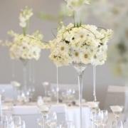 decor, white wedding, flowers