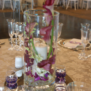 candles, centrepiece