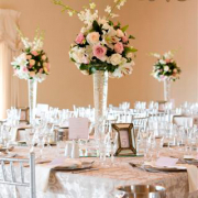 centrepiece, table setting, table, table numbers, flowers