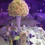 decor, flowers, table